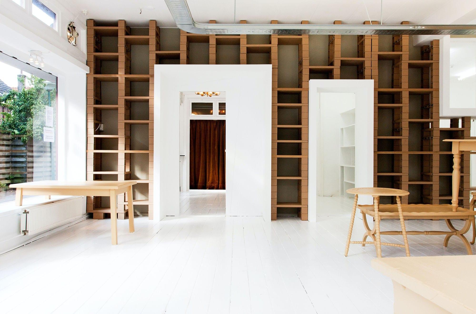 Bibliothèque sur-mesure par Wood-in Menuiserie