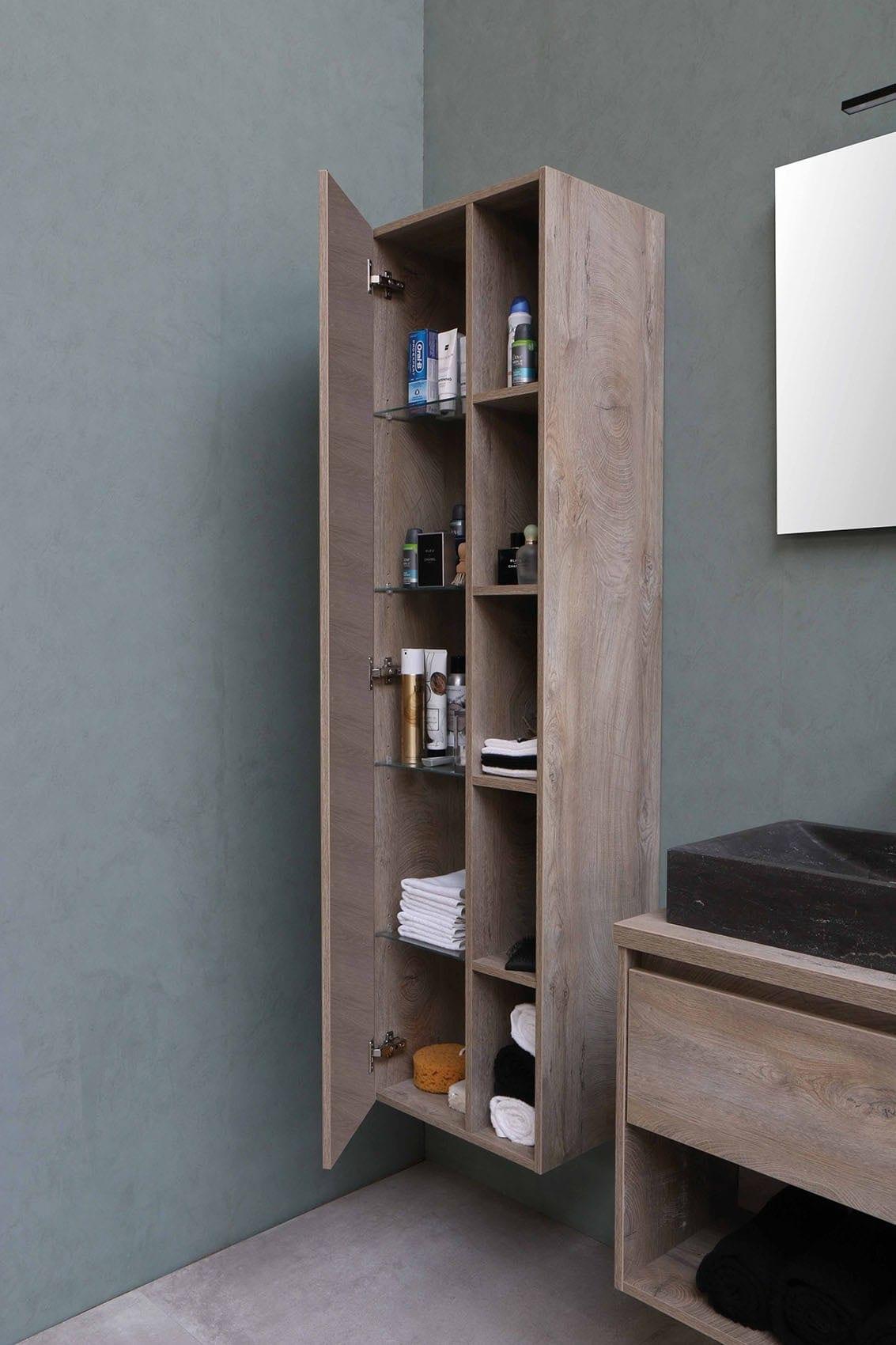 meuble de salle de bain par Wood-in Menuiserie